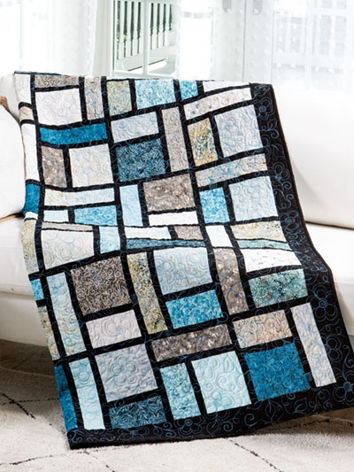 Beautiful exclusively annies quilt designs three step quilt pattern 9 Cozy Quick Easy Quilt Patterns