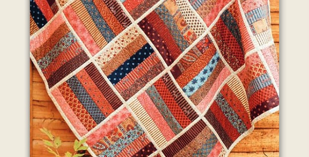 Beautiful finish this easy quilt quickly with quilt as you go Interesting Quilt As You Go Quilt Patterns