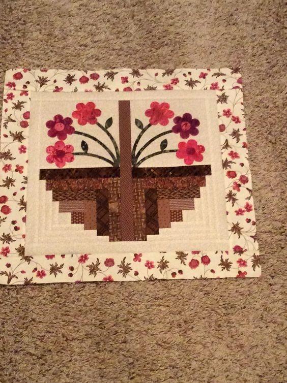 Beautiful image result for log cabin basket quilt block patterns log 11 Interesting Basket Quilt Block Patterns Inspirations