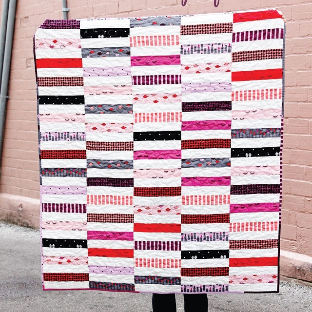 Beautiful jelly roll strip quilt pattern see kate sew 10 Cool Jelly Roll Strip Quilt Pattern