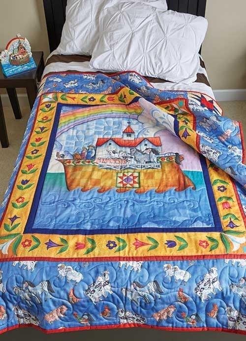 Beautiful jim shore noah39s ark quilt kit keepsake quilting 9 Elegant Beautiful Jim Shore Quilting Fabric Ideas Gallery