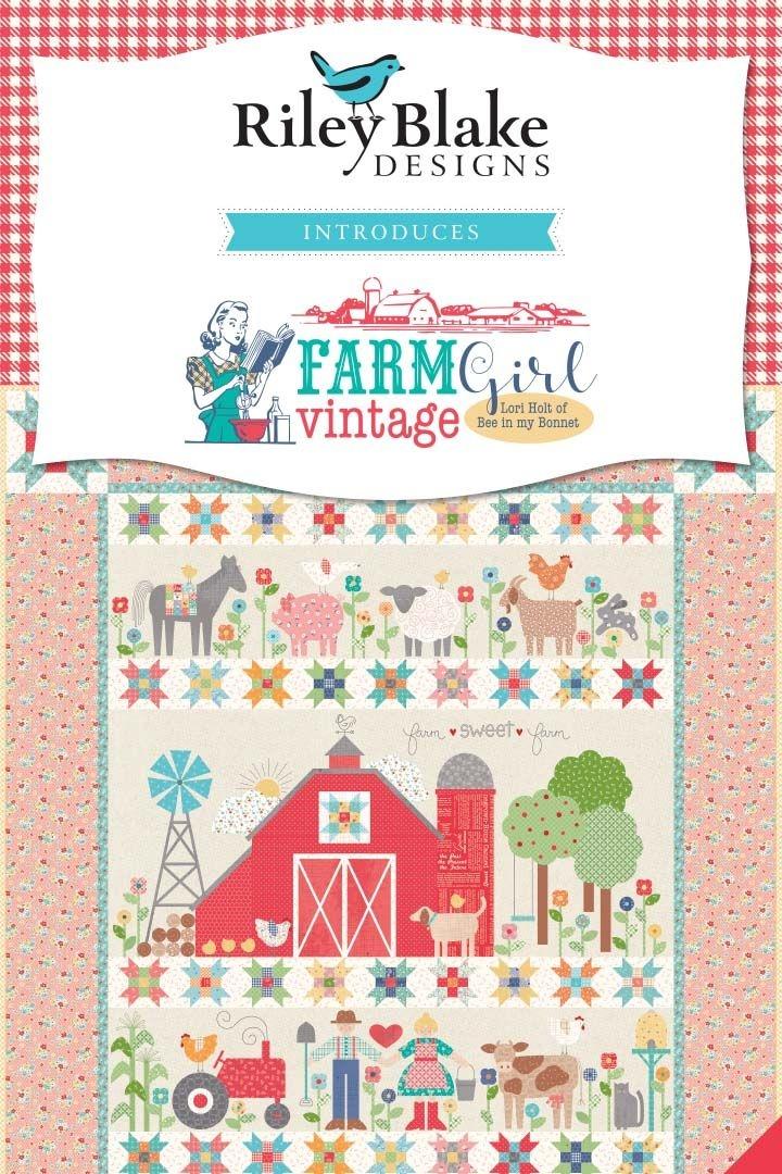 Beautiful just listed lori holts farm sweet farm sew along quilt 11 Interesting Farm Girl Vintage Quilt Kit