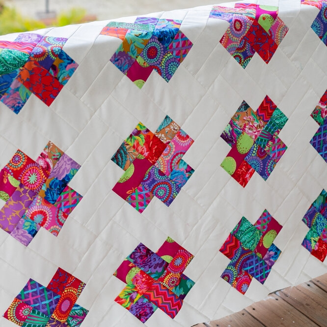 Beautiful kisses quilt pattern sew a scrappy strip quilt Beautiful Strip Quilt Patterns For Beginners Inspirations