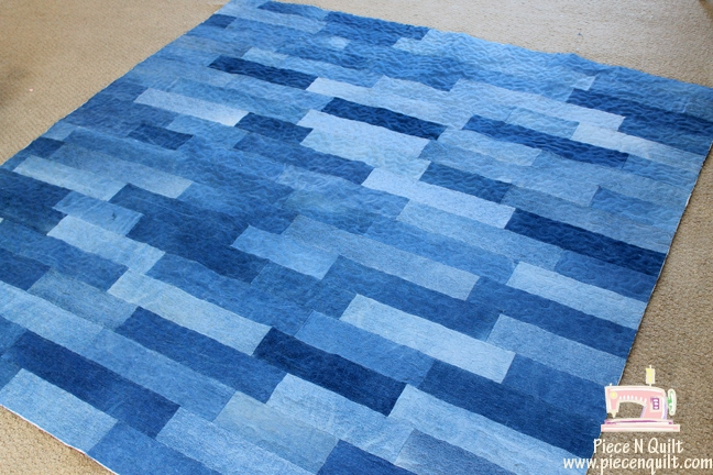 Beautiful piece n quilt simply denim a denim quilt Elegant Easy Denim Quilt Patterns