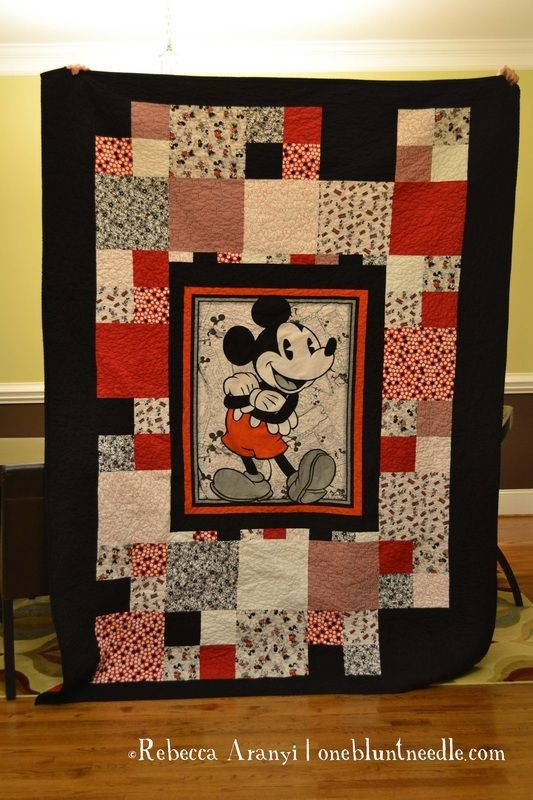 Beautiful pin lorrie ridgon on quilting disney quilt mickey 9 Cool Mickey Mouse Quilt Pattern