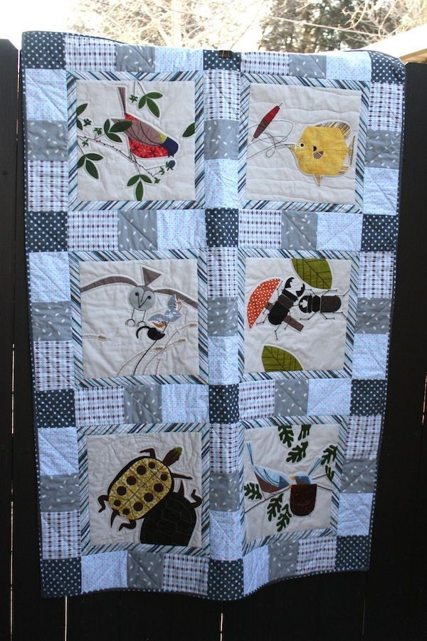 Beautiful pin on art quilt 11 Beautiful Stylish Charley Harper Quilt Fabric Ideas Gallery