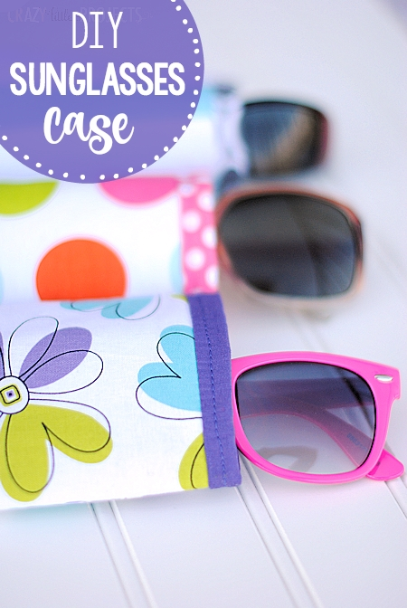 Beautiful quick easy diy sunglasses case pattern Modern Quilted Eyeglass Case Pattern