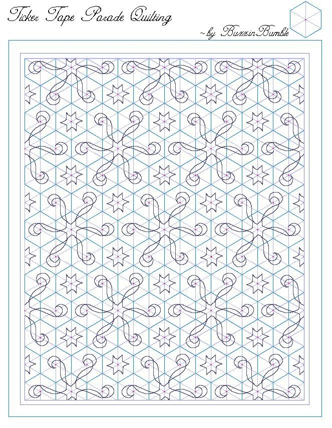 Beautiful template for a one block wonder quilting design others on Interesting One Block Wonder Quilt Pattern