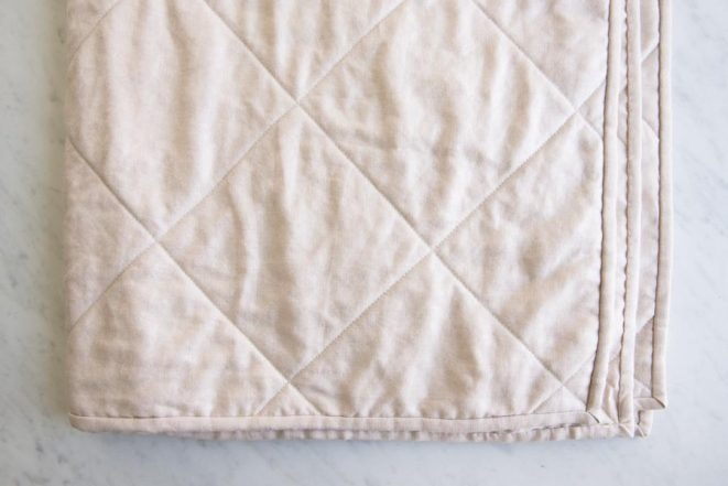 Beautiful wholecloth quilts in mineral linen purl soho 10 Modern Whole Cloth Quilting Patterns