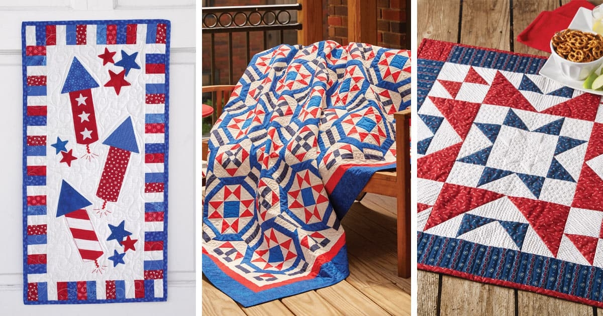 best of patriotic quilts lookbook quilting daily 10 Cool Best Of Fons And Porter Patriotic Quilts Inspirations