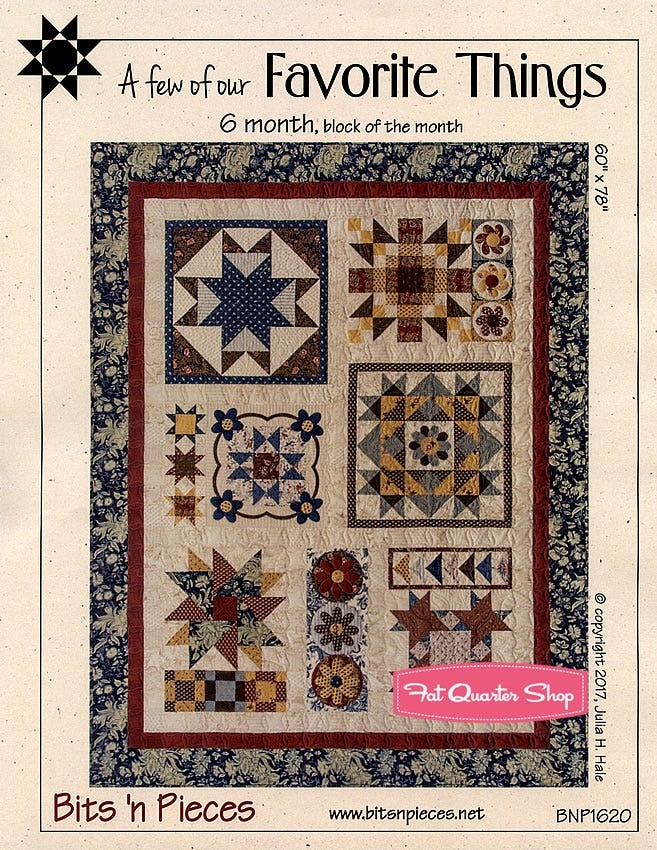 bits n pieces favorite things bom quilt pattern bits n pieces bnp 1620 9 Modern Bits And Pieces Quilt Pattern Gallery
