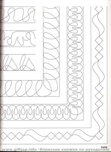border and sashing ideas quilting stitch patterns machine 10 Cozy Hand Quilting Patterns For Borders Gallery