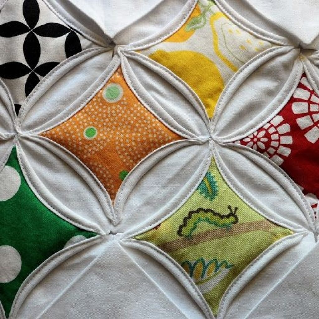 cathedral window quilt tutorial cathedral window quilts 9 New Cathedral Window Quilt Patterns Inspirations