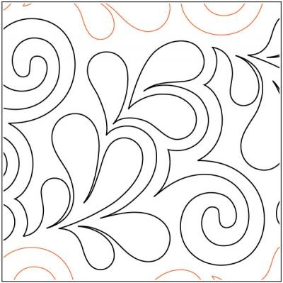 citrine quilting pantograph pattern patricia ritter 10 Interesting Pantograph Patterns For Quilting