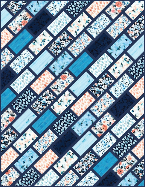 cobblestone street free pattern robert kaufman fabric company 9 Cool Robert Kaufman Quilt Patterns Inspirations