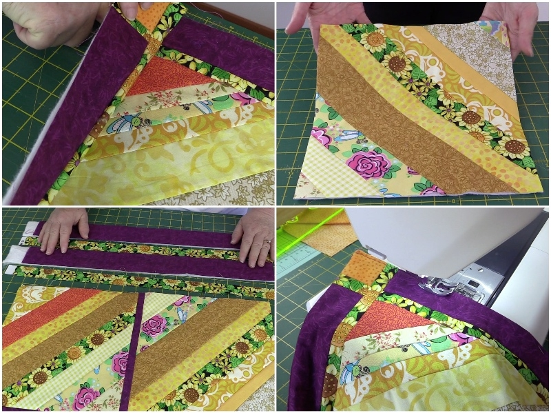 Cool 10 ways to use up your fabric scraps alanda craft 11 Unique Quilted Sewing Fabric Inspirations