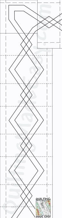 Cool 102 best continuous line quilting designs images quilting 9 Cozy Quilting Borders Patterns
