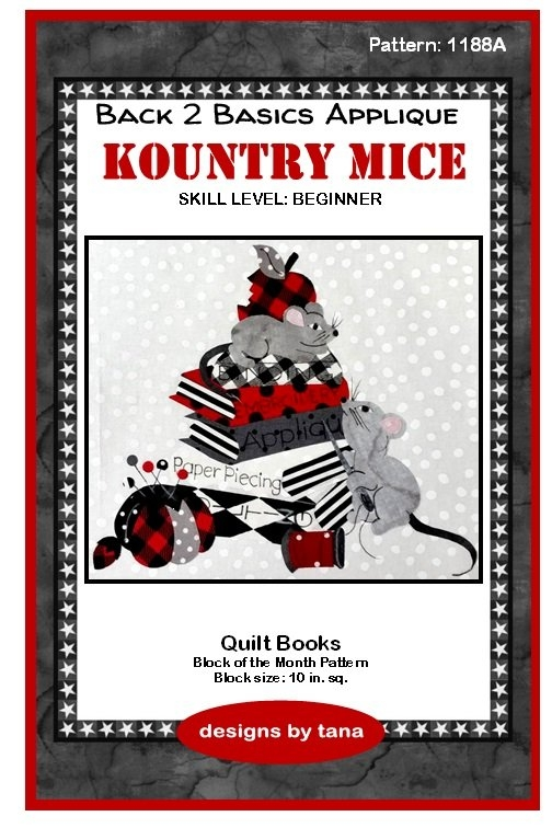 Cool 1188a kountry micequilt books applique pattern only 11 Unique Quilt Books And Patterns Inspirations