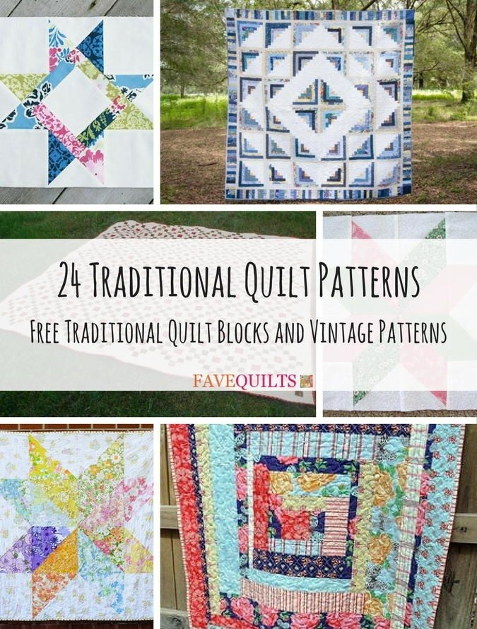 Cool 24 traditional quilt patterns and quilt blocks traditional 9 Beautiful Traditional Quilt Patterns Inspirations