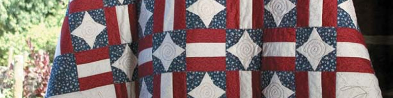 Cool 3 free patriotic quilt patterns quilting daily 10   Patriotic Quilt Fabric Inspiration Gallery