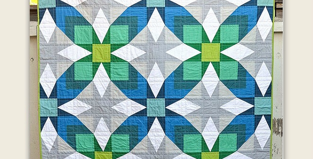 Cool a traditional quilt goes modern with great results Elegant Traditional Quilt Pattern