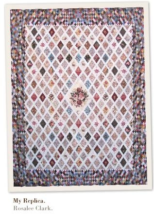 Cool an excellent replica of jane austens quilt rosalee clark 9 Cool Jane Austen Quilt Pattern Gallery