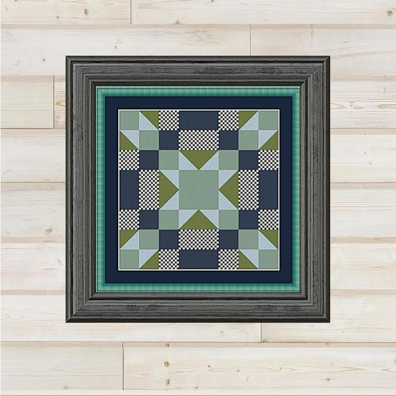 Cool arkansas cross stitch quilt block pattern chart 9 Unique Cross Stitch Quilt Block Patterns Gallery