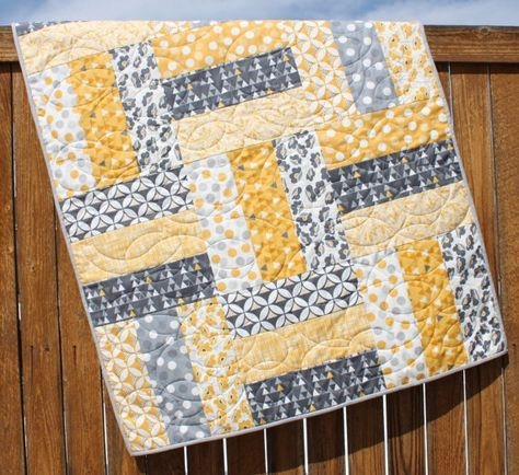 Cool ba quilt pattern lap quilt pattern jumbo rails ba 9 Cozy Quilt Patterns For Beginners Gallery