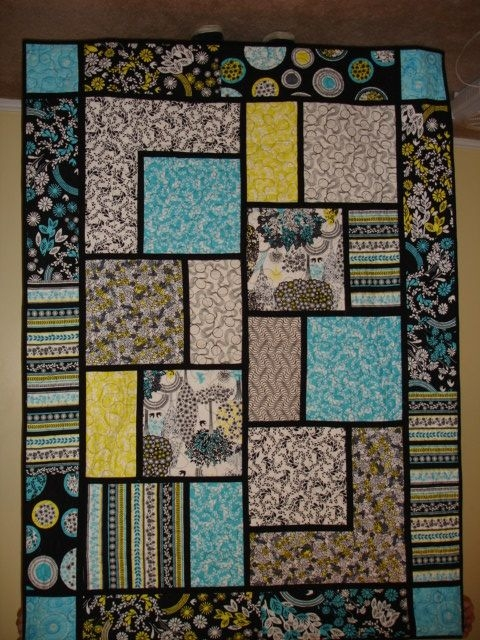 Cool big block quilt big block quilts quilt block patterns 11 Unique Block In A Block Quilt Pattern