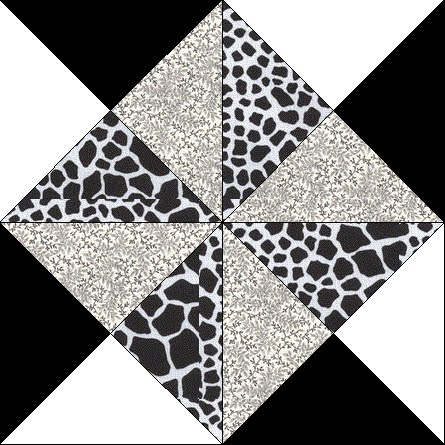 Cool black white quilt along block 5 crafty gemini New Black And White Quilt Block Patterns Gallery