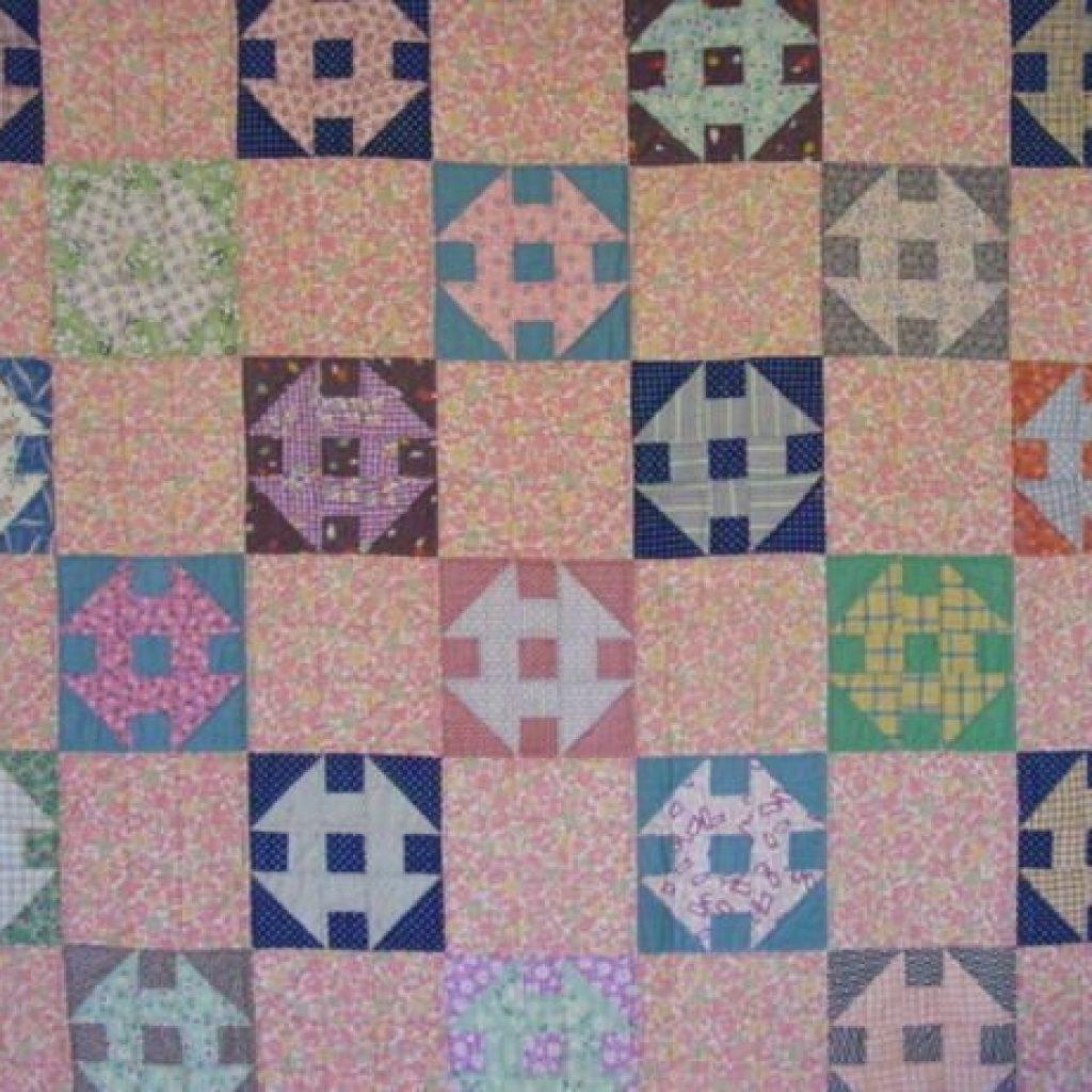Cool churn dash vintage quilt mint sale 42500 cindy rennels 10 Beautiful Vintage Churn Dash Quilt Pattern Inspirations