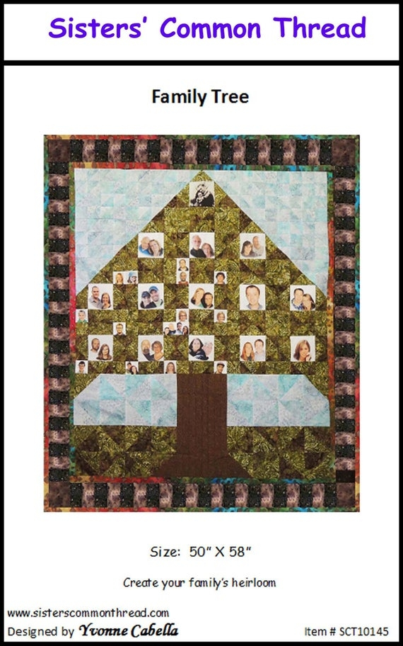 Cool family tree quilt pattern op sisters common thread 9 Modern Family Tree Quilt Pattern Gallery