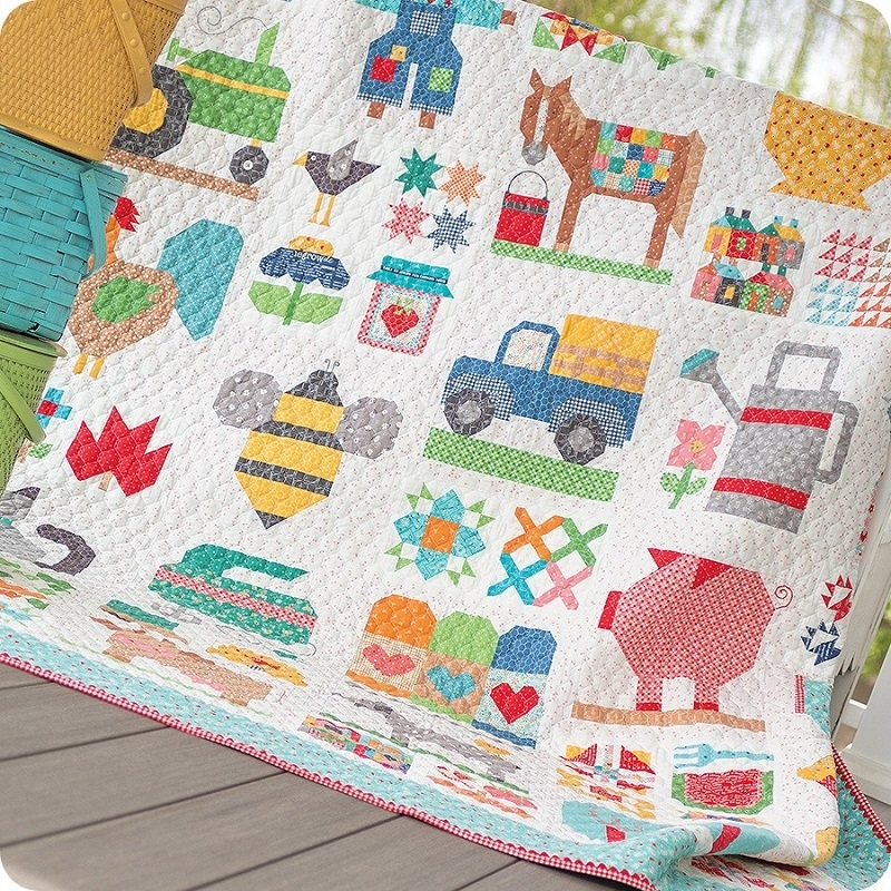 Cool farm girl vintage 2 book lori holt 11 Cozy Farm Girl Vintage Quilt Book Inspirations