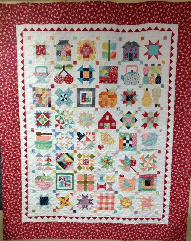 Cool farm girl vintage block of the month 11 Cozy Farm Girl Vintage Quilt Book Inspirations