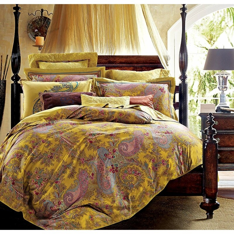 Cool guth chinoiserie vintage paisley duvet cover set 9 New Vintage Quilt Cover Gallery