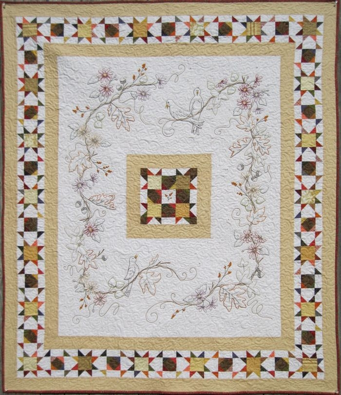 Cool hand embroidery quilt patterns to make beautiful gifts and 10 Cool Hand Embroidery Quilt Patterns