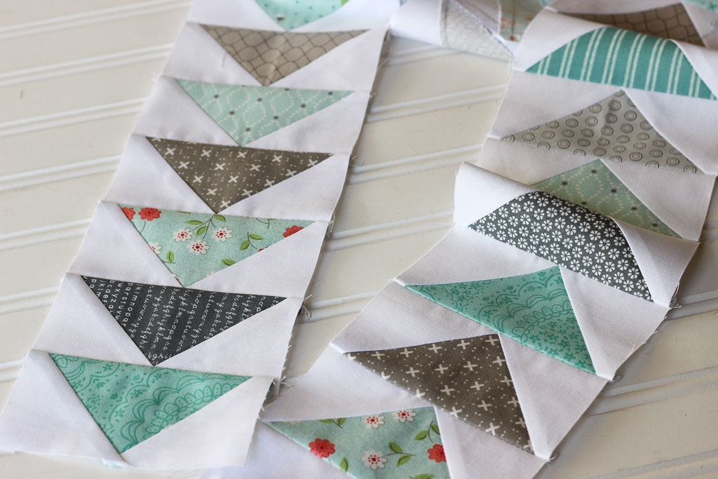 Cool how to make a flying geese block 5 different ways Modern Quilt Pattern Flying Geese