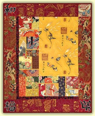 Cool japanese quilts japanese quilts japanese quilt patterns 10 Elegant Beautiful Oriental Fabric Panels For Quilting Ideas