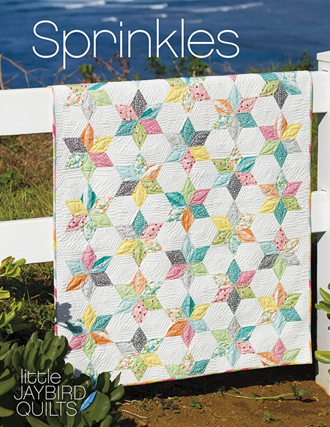 Cool new jaybird quilts pattern sprinkles ba quilt jaybird Cozy Baby Quilt Patterns Gallery