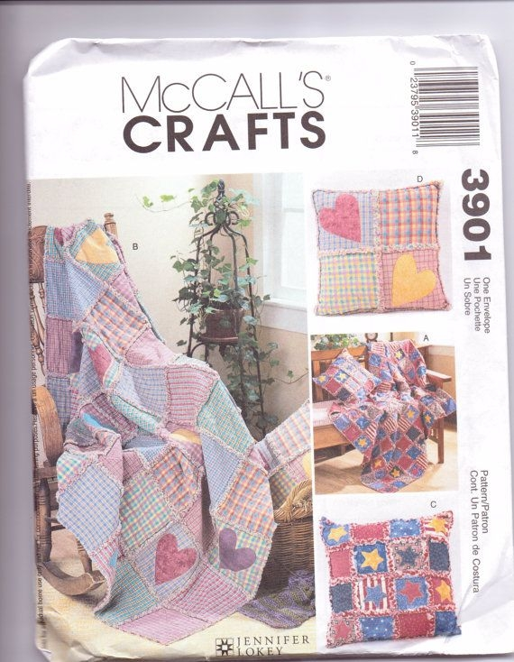 Cool new mccalls quilt pattern rag throw quilt Stylish Mccalls Quilting Patterns Inspirations