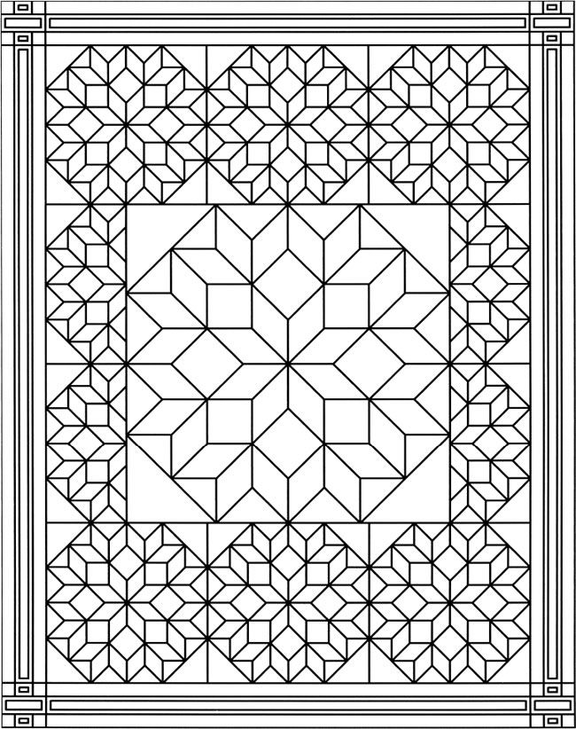 Cool quilt pattern pattern coloring pages coloring pages 11 New Quilt Patterns Coloring Pages Inspirations
