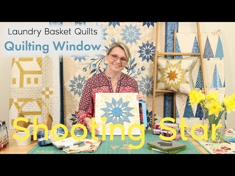 Cool quilting window episode 25 shooting star youtube Beautiful Lovely Laundry Basket Quilts Fabric Inspirations