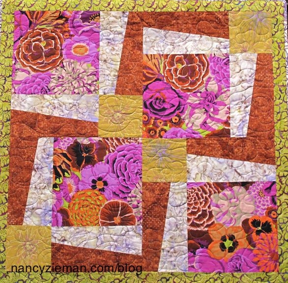 Cool sew big block quiltsnancy ziemandebbie bowlesquilt patern 9   Big Block Quilt Patterns For Beginners Gallery