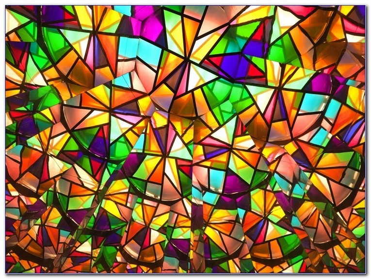 Cool stained glass window quilt pattern home car window 11   Stained Glass Window Quilt Pattern Gallery