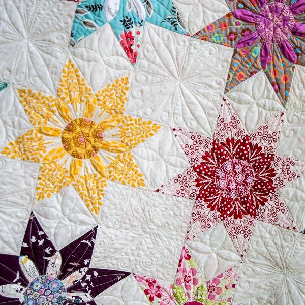Cool star dahlia vintage quilt pattern 9 Interesting Vintage Quilt Patterns Pictures Inspirations