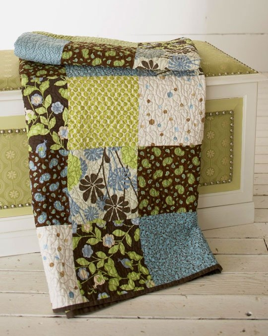 Cozy 35 free quilt patterns for beginners allpeoplequilt Elegant Basic Block Quilt Pattern Gallery