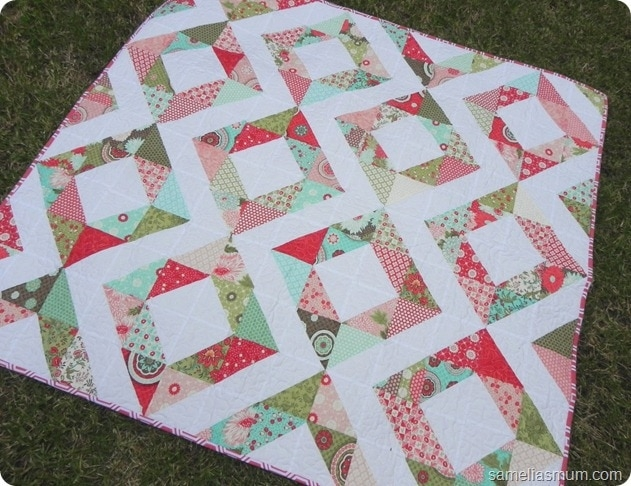 Cozy 45 free easy quilt patterns perfect for beginners 10   Easy Quilt Square Patterns