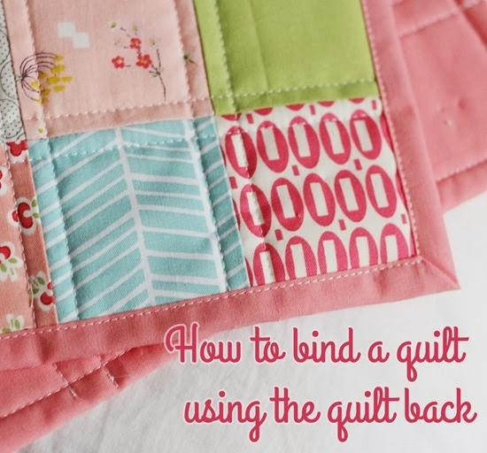 Cozy binding a quilt with the quilt back cluck cluck sew 9 Stylish Sewing Binding On Quilt