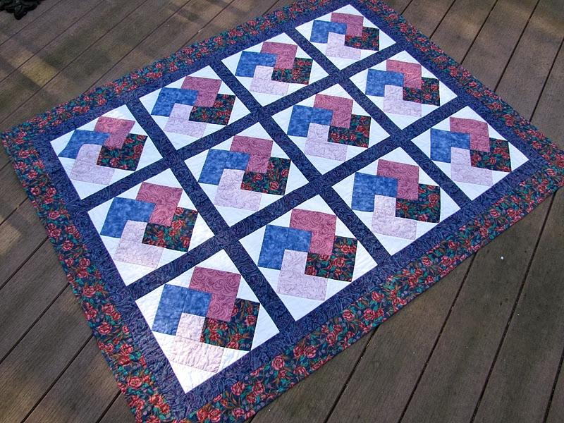 Cozy canton village quilt works quilt flashback Beautiful Winning Hand Quilt Pattern