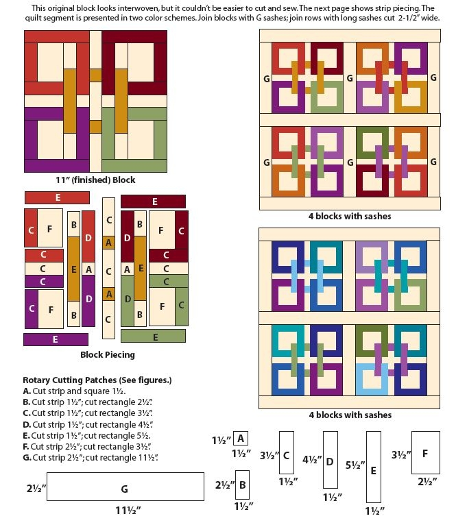 Cozy celtic squares block favequilts 9 Modern Celtic Quilting Patterns